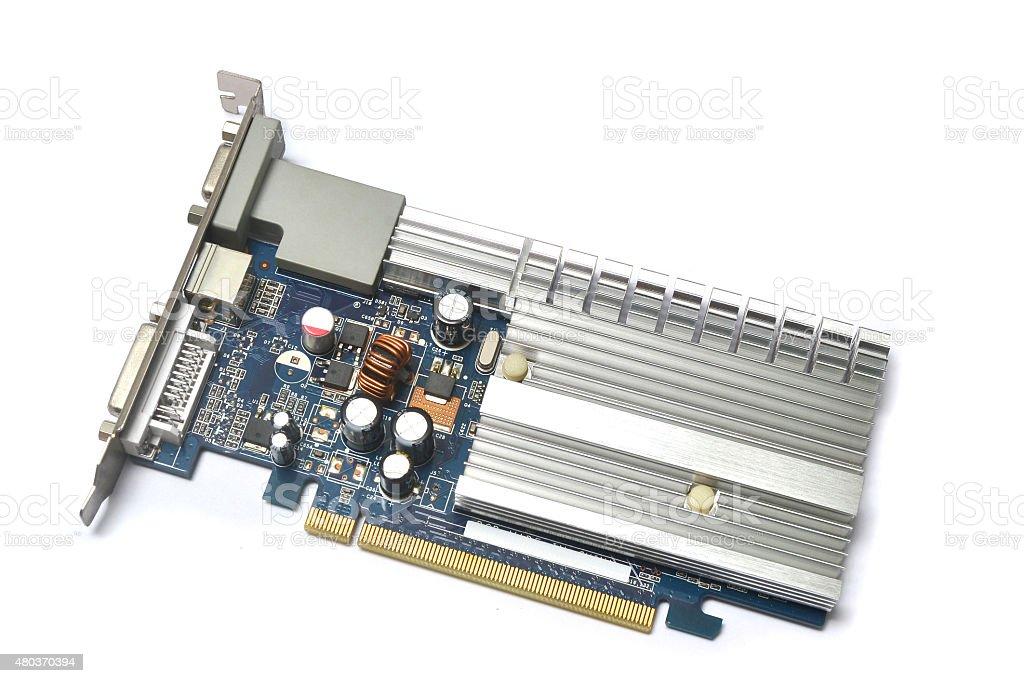 video card stock photo