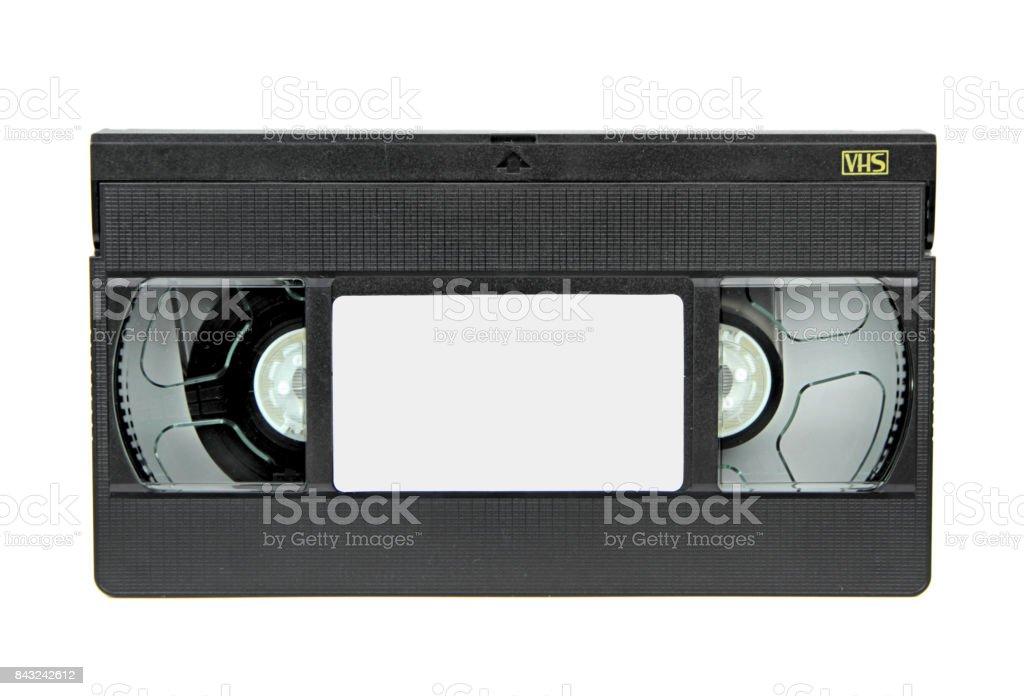 VHS video casette stock photo