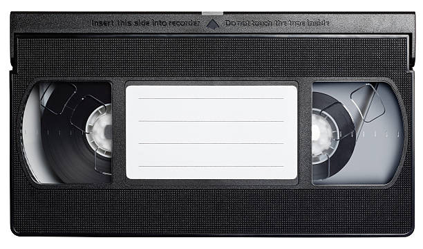 Video cassette tape isolated on white. Video cassette tape isolated on white. audio cassette stock pictures, royalty-free photos & images