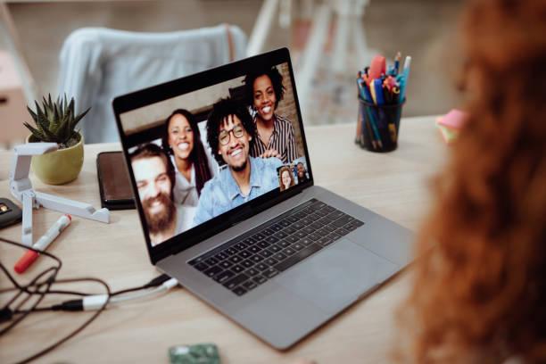 Videokonferenzbesprechung – Foto