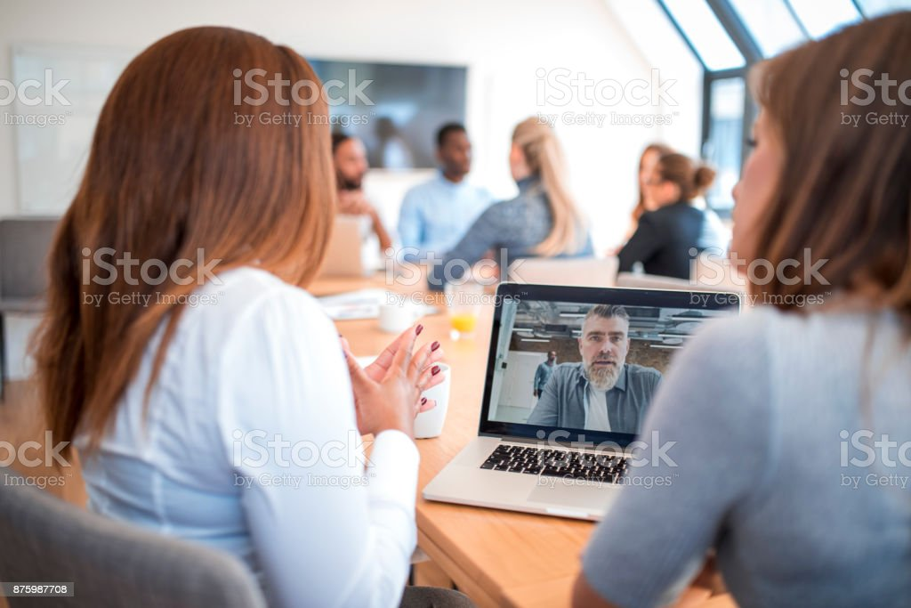 Video conference – Foto