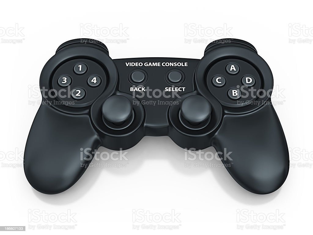 video game console royalty-free stock photo