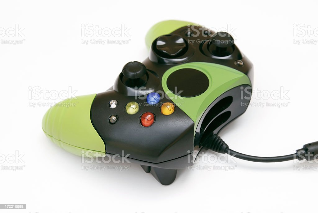 Video game controller royalty-free stock photo