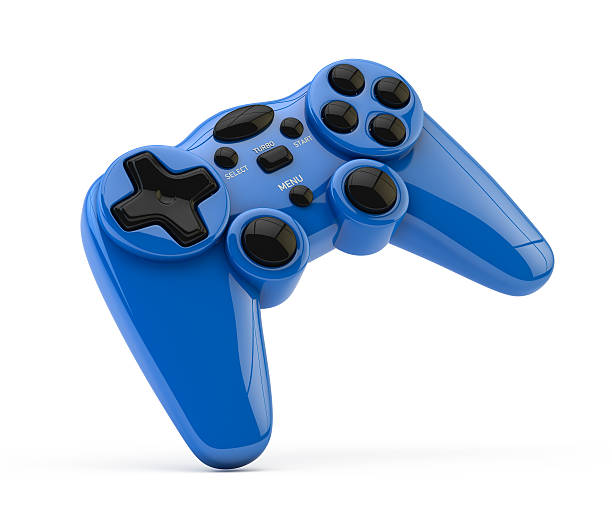 Video Game Gamepad Video game Gamepad isolated on white background gamepad stock pictures, royalty-free photos & images