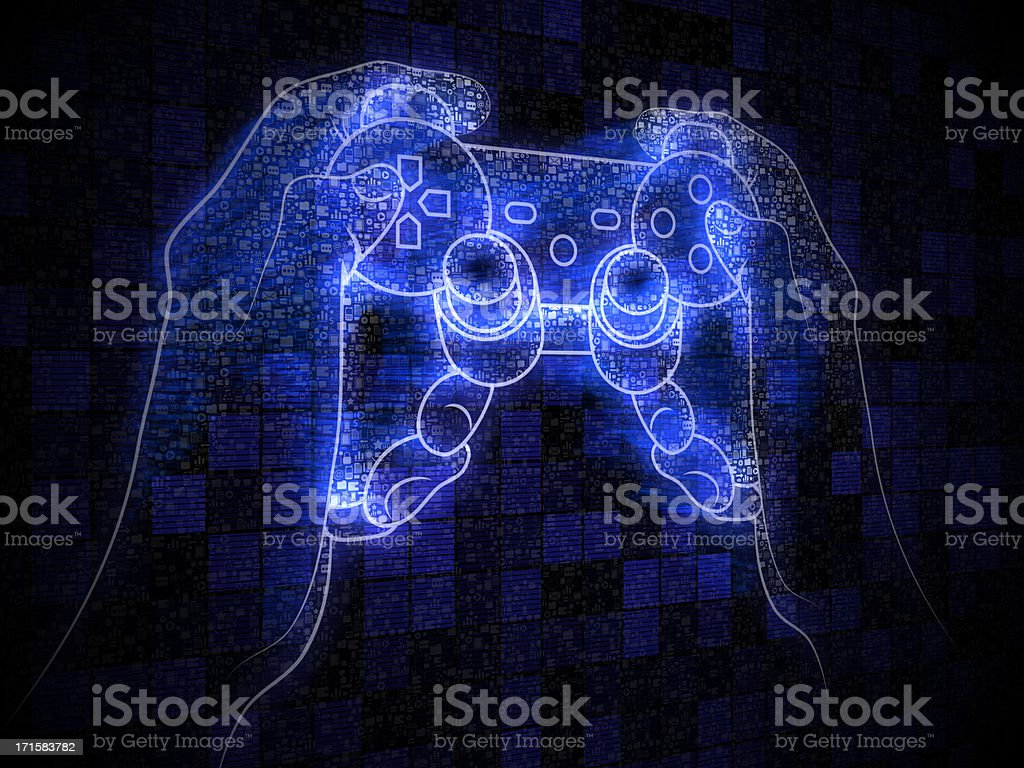 Video Game royalty-free stock photo