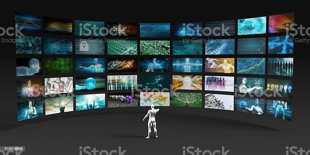 Video Marketing stock photo