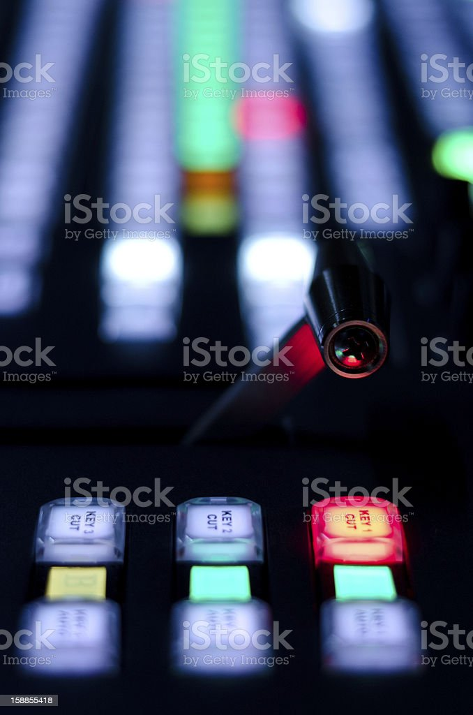 Video mixer - Royalty-free Broadcasting Stock Photo