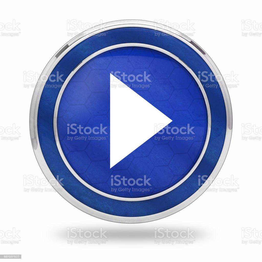 botón de reproducción de vídeo 3D - foto de stock