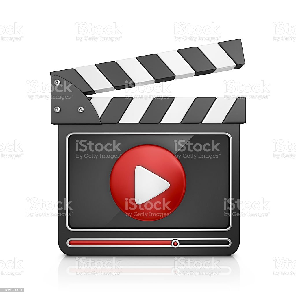video player royalty-free stock photo