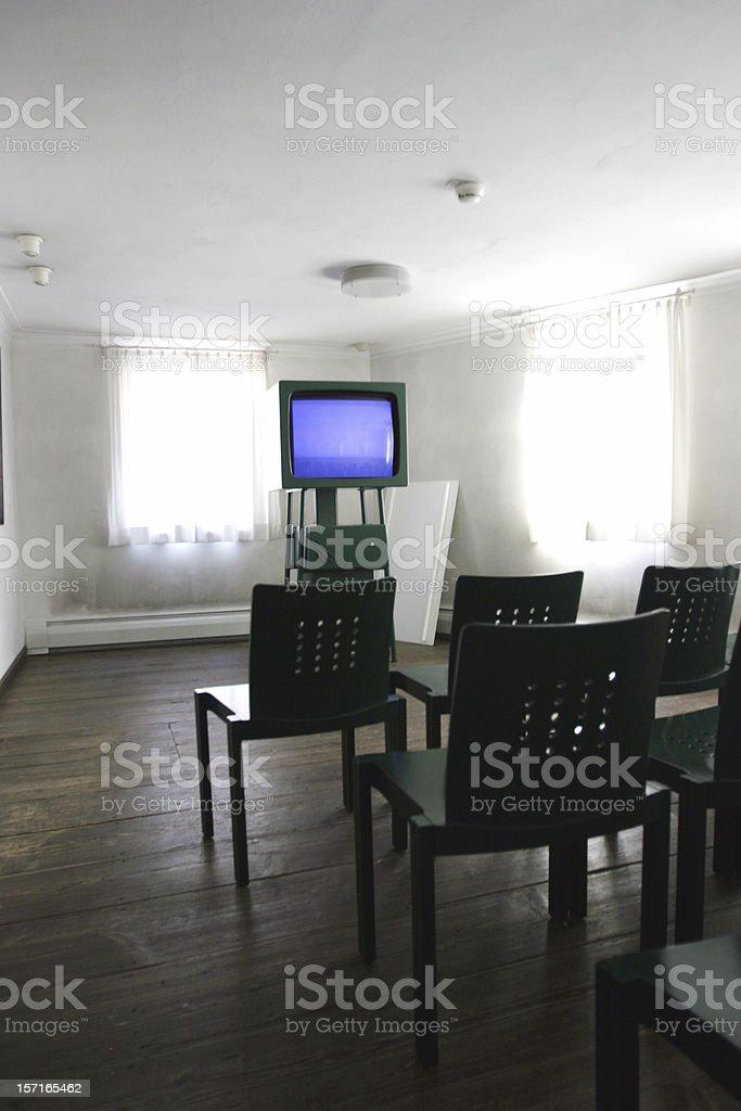 Video presentation room royalty-free stock photo