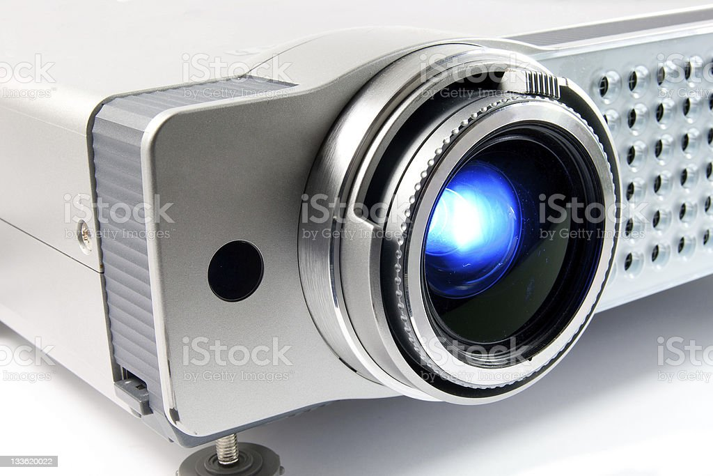 video projector stock photo