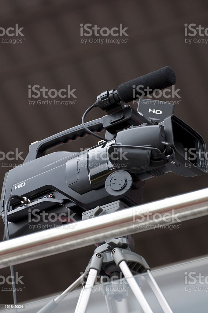 Video recorder royalty-free stock photo