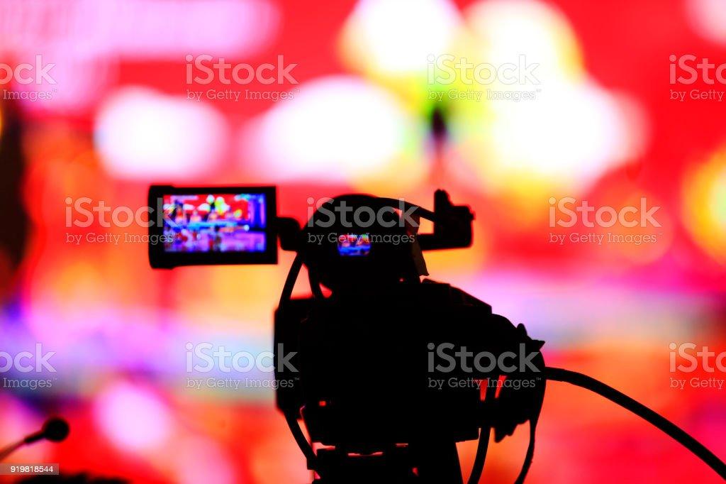 Video recorder stock photo