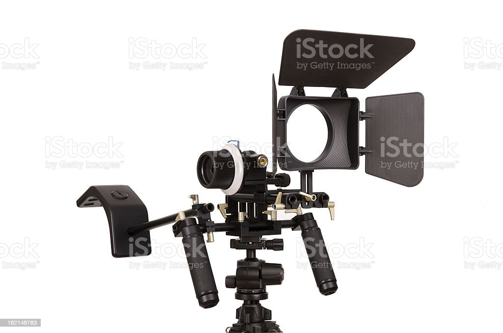 Video rig royalty-free stock photo