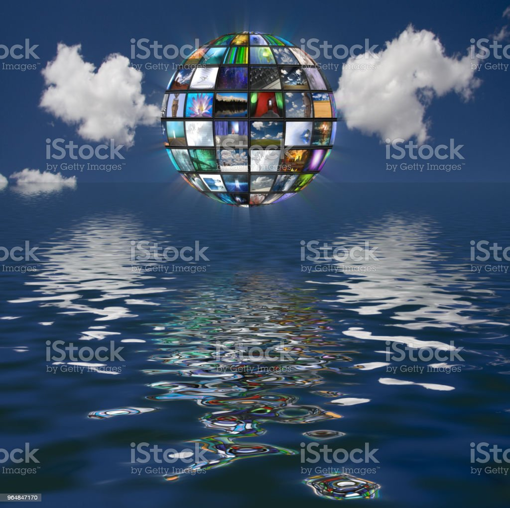 Video Sphere royalty-free stock photo