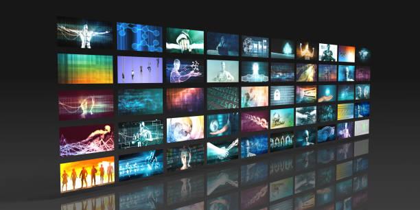 Video Streaming Entertainment stock photo