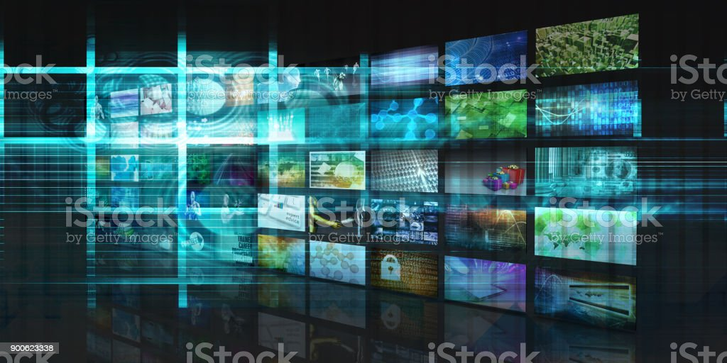 Video Streaming Entertainment stock photo
