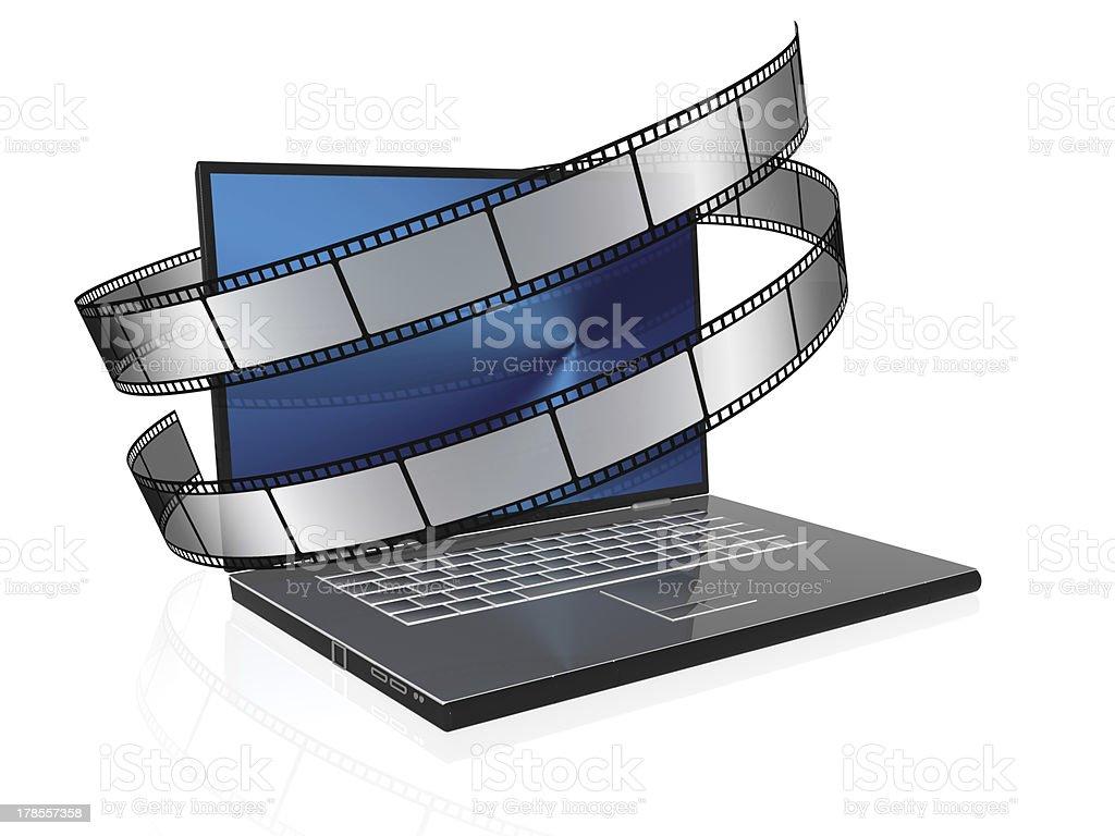 video technology stock photo