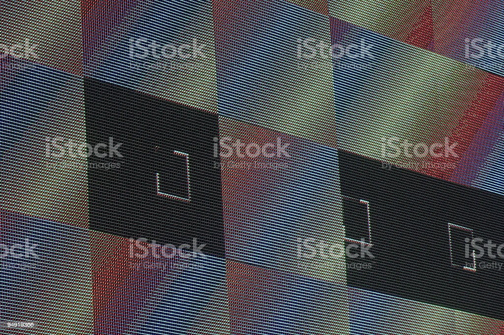 Video wall pattern royalty-free stock photo