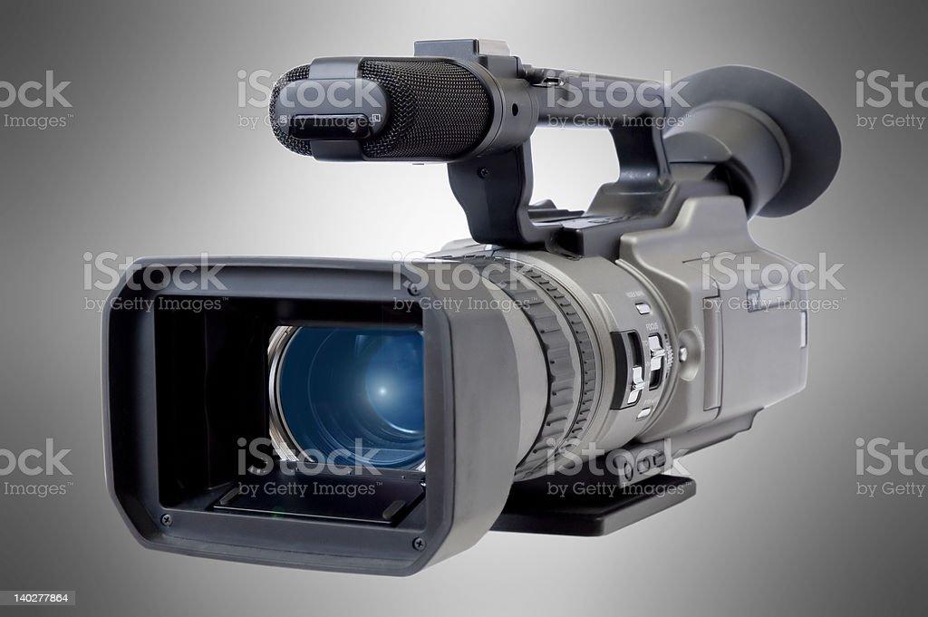 Videocamera stock photo