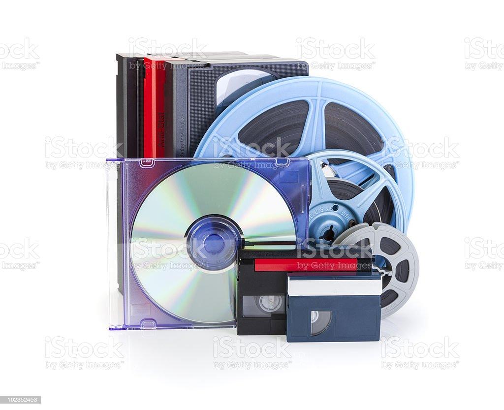 Video/DVD Transfer royalty-free stock photo