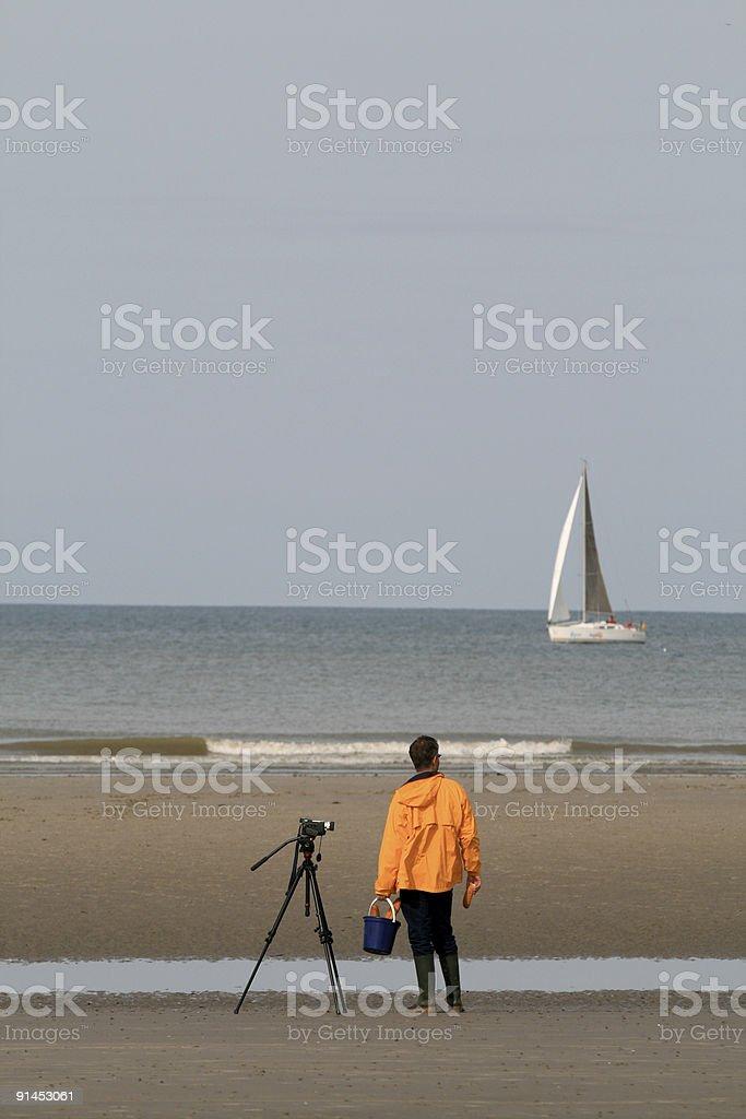 Videographer royalty-free stock photo