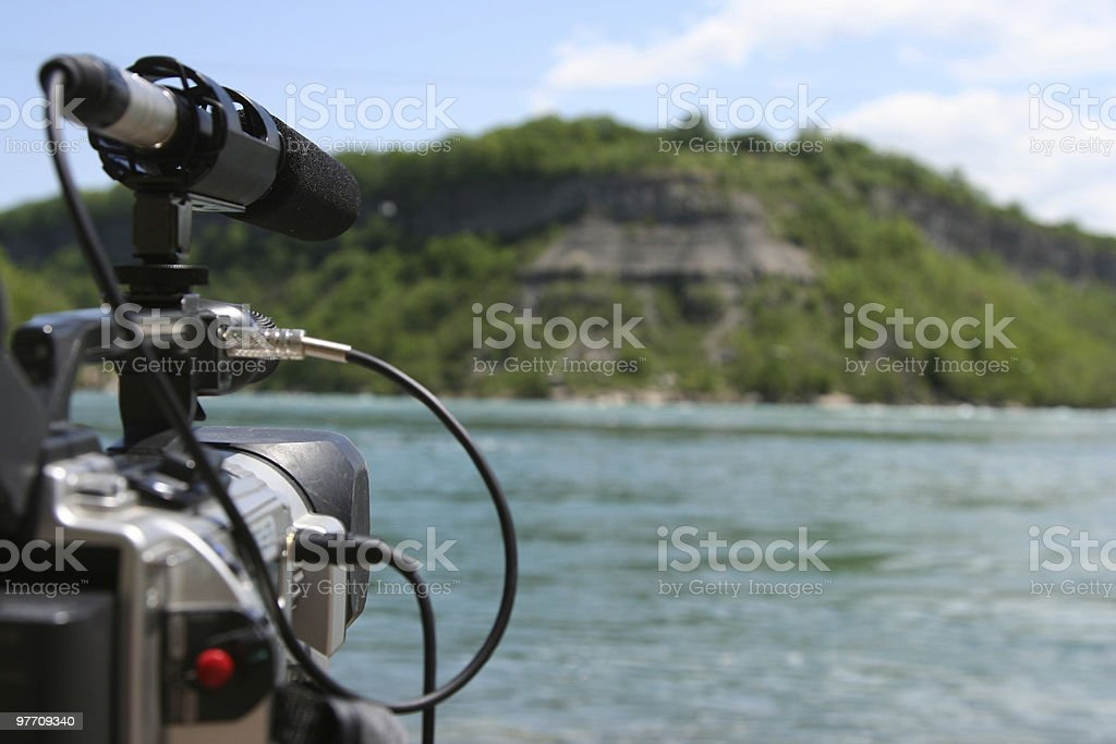 Videography stock photo