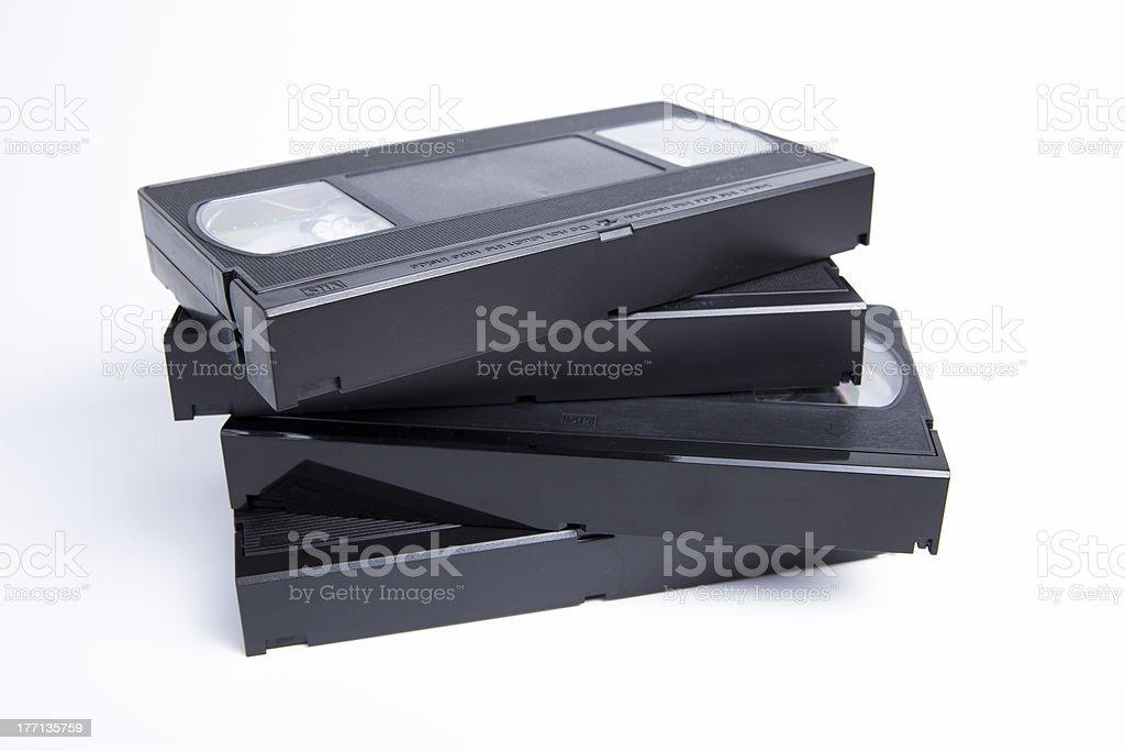 Videotapes stock photo
