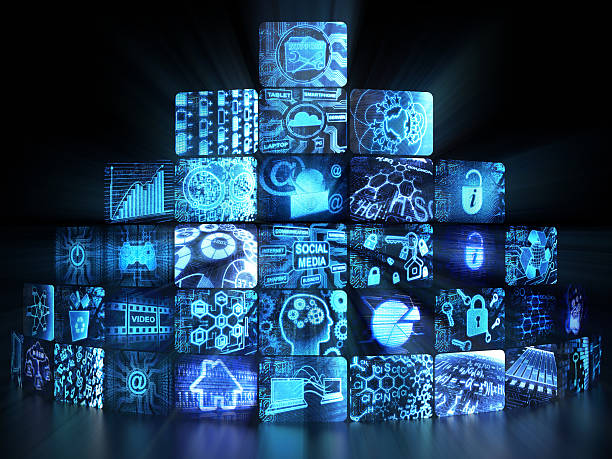 Best Touch Video Wall Stock Photos, Pictures & Royalty-Free Images