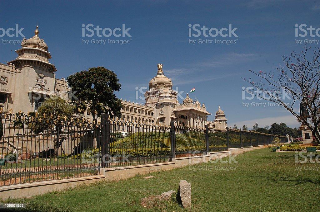 vidhana soudha, bangalore royalty-free stock photo
