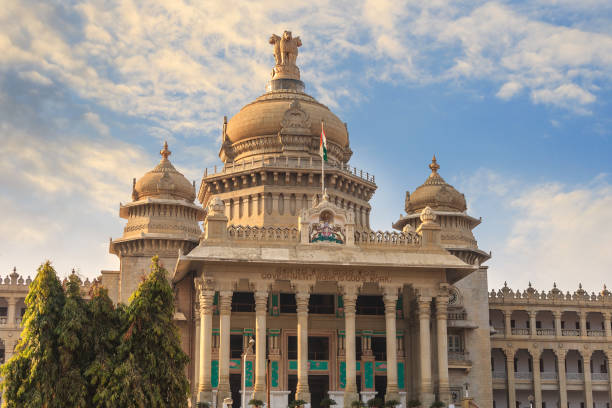 Vidhana Soudha the Bangalore State Legislature Building, Bangalore, India