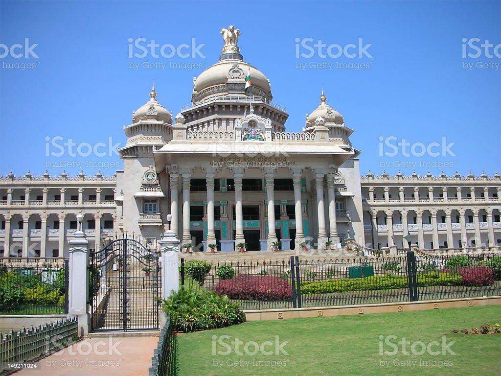 Vidhana Soudha - the Landmark Architecture royalty-free stock photo