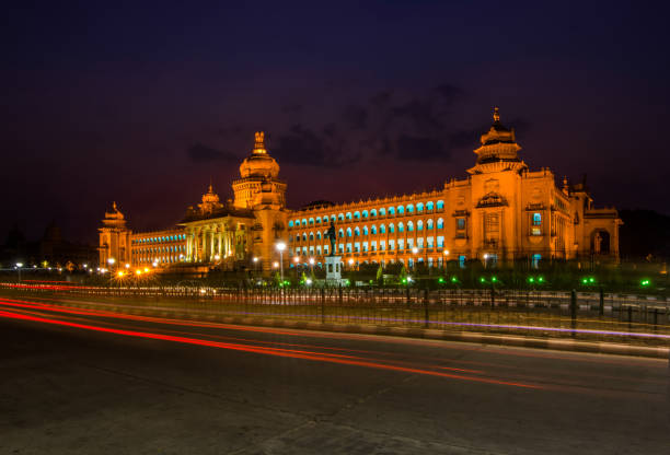Vidhana_Soudha Power House of Bangalore bangalore stock pictures, royalty-free photos & images