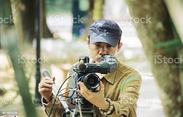 Vidographer Stock Photo - Download Image Now