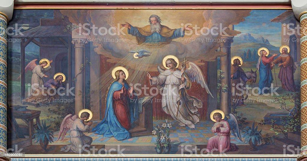 Vienne-fresco Carmelites Église de l'Annonciation - Photo