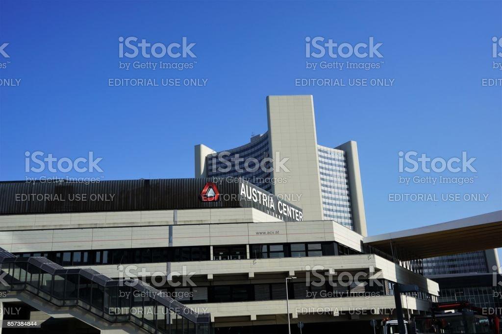 VIenna - Austria Centre stock photo