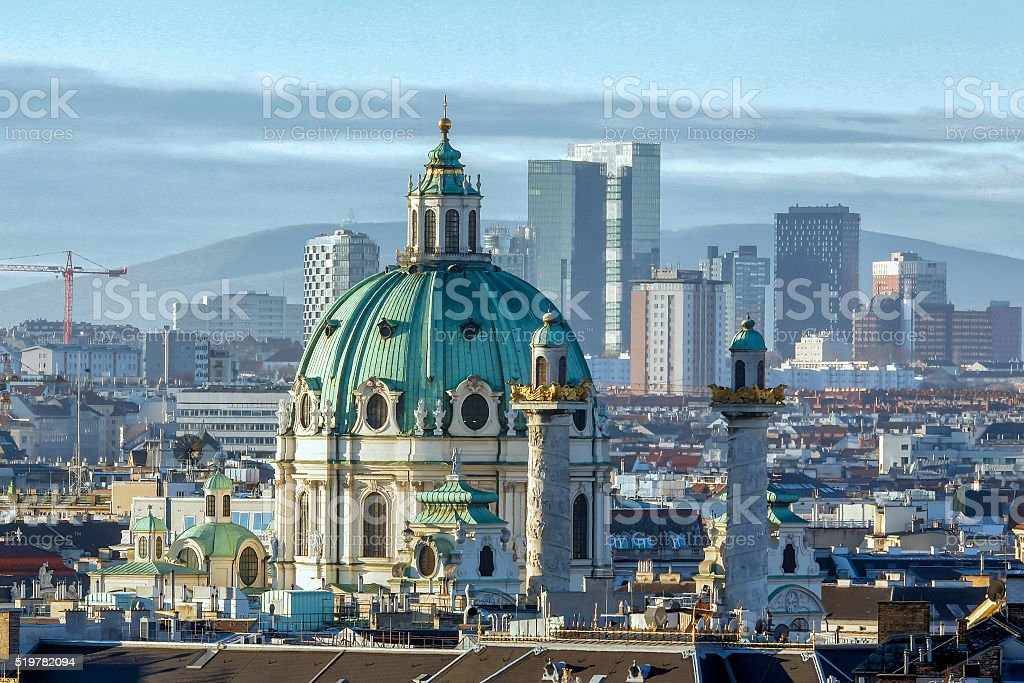 Vienna. Austria royalty-free stock photo