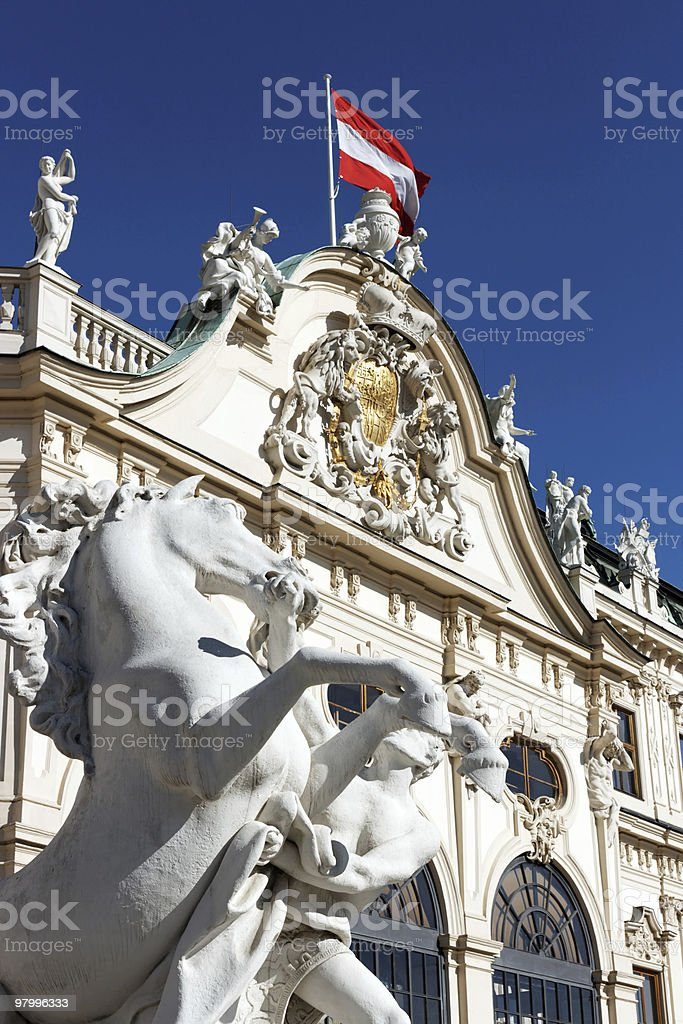 Vienna / Austria royalty-free stock photo