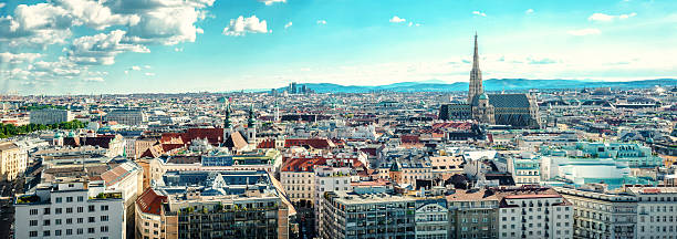 vienna city. austria - vienna stock photos and pictures