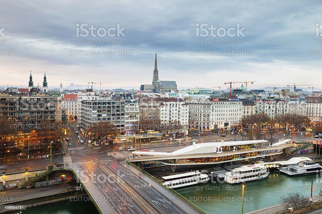 Vienna City, Austria royalty-free stock photo