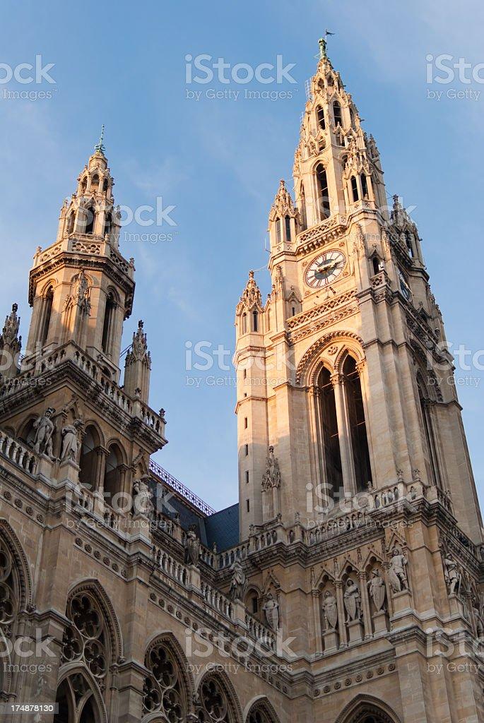 Vienna city hall royalty-free stock photo