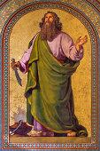 istock Vienna -  Fresco of Abraham  in Altlerchenfelder church 181773496