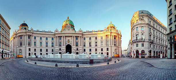 vienna - hofburg palace, austria - vienna stock photos and pictures