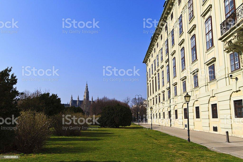Vienna Hofburg Palace - Presidential Tract, Austria royalty-free stock photo