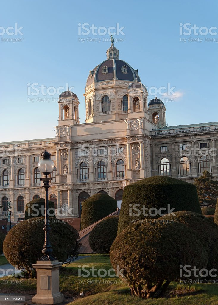 Vienna old building royalty-free stock photo
