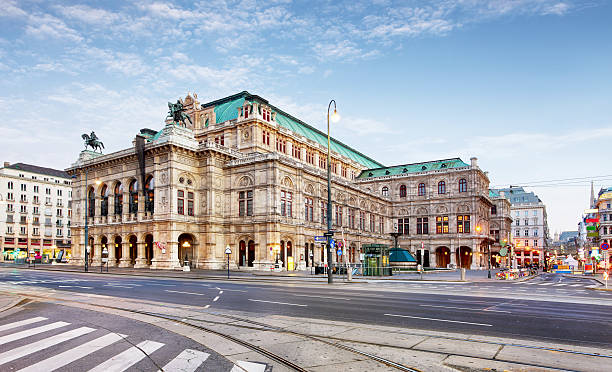 vienna opera house, austria - vienna stock photos and pictures