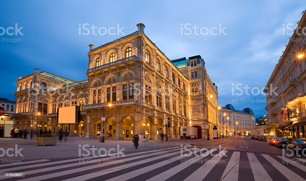 Vienna Opera House stock photo