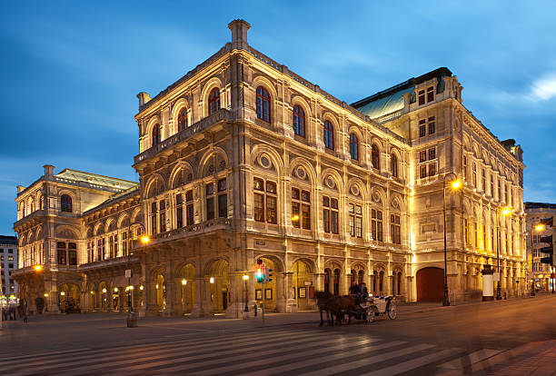 vienna opera house (xxxl) - vienna stock photos and pictures