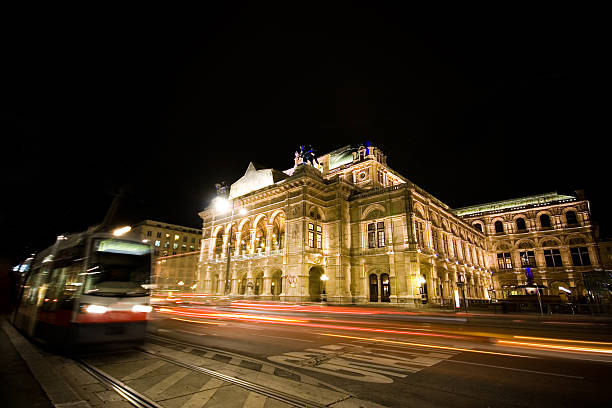 vienna opera - yt stock pictures, royalty-free photos & images