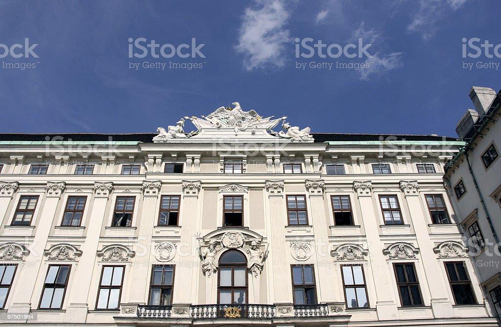 Vienna palace royalty-free stock photo